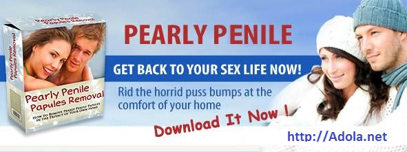 Getting rid of pearly penile papules